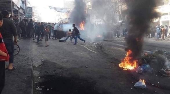 فلسطينيون يحتجون على حماس في حراك بدنا نعيش (أرشيف)
