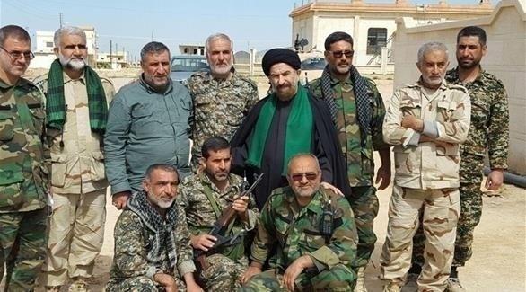 عناصر من ميليشيات الحرس الثوري الإيراني في سوريا (أرشيف)