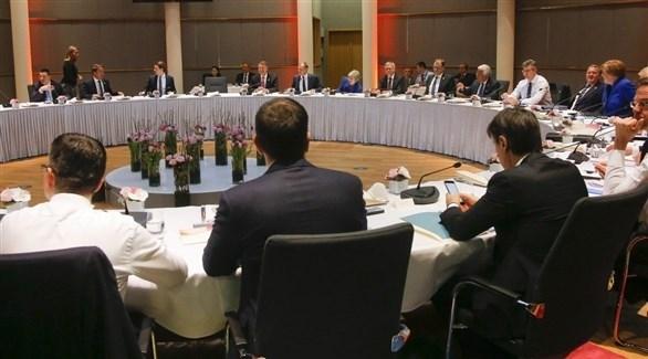 اجتماع قادة دول الاتحاد الأوروبي لبحث بريكست (أرشيف)