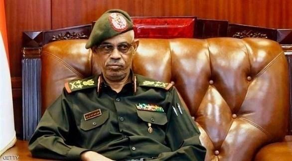 وزير الدفاع السوداني، الفريق ركن عوض بن عوف (أرشيف)