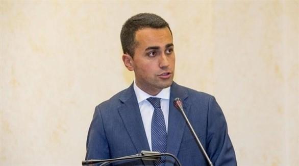 نائب رئيس الوزراء الإيطالي، لويجي دي مايو (أرشيف)
