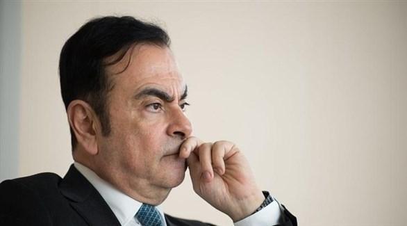 رئيس مجلس إدارة نيسان ورينو السابق كارلوس غصن (أرشيف)