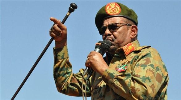الرئيس السوداني المعزول عمر حسن البشير (أرشيف)