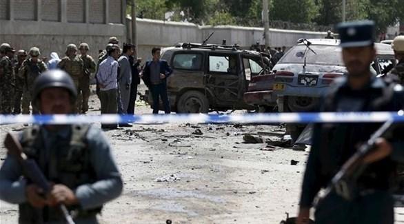 الشرطة الأفغانية تطوق منطقة تعرضت لهجوم من طالبان (أرشيف)