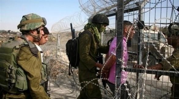 الجيش الإسرائيلي يعتقل متسللاً من قطاع غزة (أرشيف)