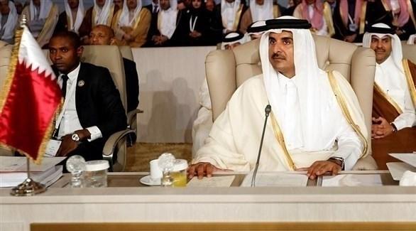 أمير قطر الشيخ تميم بن حمد آل ثاني (أرشيف)