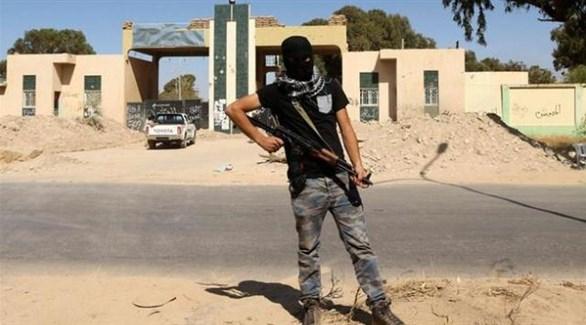 مُسلح من داعش في ليبيا (أرشيف)