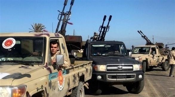 قوات الجيش الليبي في طرابلس (أرشيف)