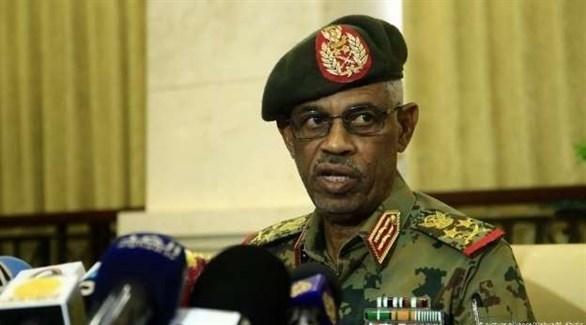 رئيس المجلس العسكري الانتقالي السوداني عوض بن عوف (أرشيف)