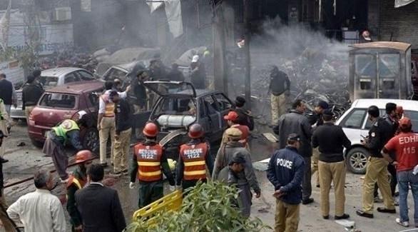 استنفار أمني في موقع انفجار سابق في باكستان (أرشيف)