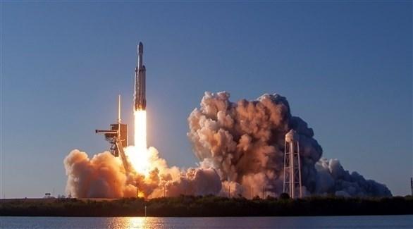 لحظة انطلاق صاروخ