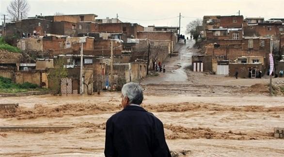السيول في إيران (أرشيف)