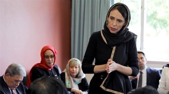 رئيسة وزراء نيوزيلندا جاسيندا أرديرن (أرشيف)
