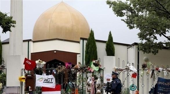 مسجد النور الذي تعرض لهجوم إرهابي في مدينة كرايستشيرش بنيوزيلندا (أرشيف)