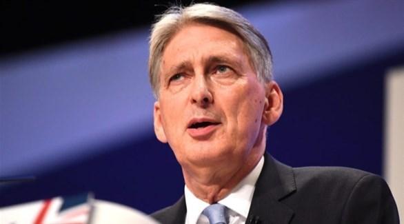 وزير المالية البريطاني فيليب هاموند (أرشيف)