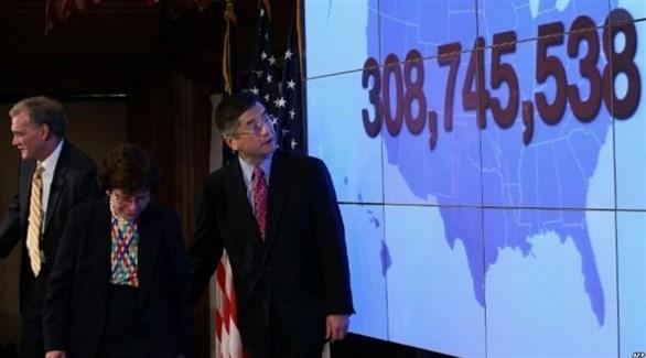 مؤتمر صحافي يوضح التعداد السكاني الأمريكي في 2010 (أرشيف)