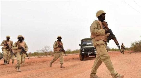 عناصر من جيش بوركينا فاسو (أرشيف)