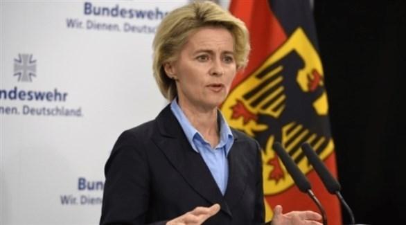 وزيرة الدفاع الألمانية أورسولا فون دير ليين (أرشيف)
