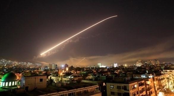 غارة إسرائيلية سابقة على سوريا (أرشيف)