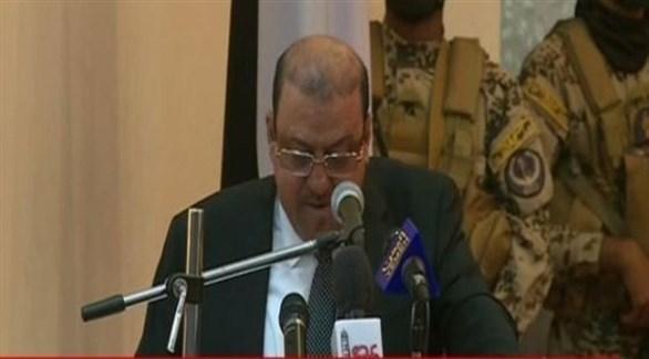 رئيس البرلمان اليمني المنتخب سلطان البركاني (المصدر)
