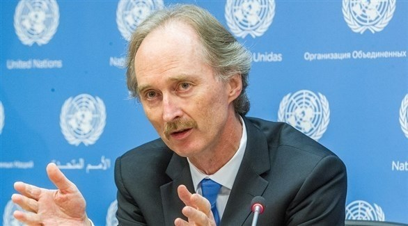 المبعوث الأممي الخاص إلى سوريا غير بيدرسون (أرشيف)