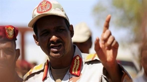 نائب رئيس المجلس العسكري الانتقالي محمد حمدان دلقو (أرشيف)