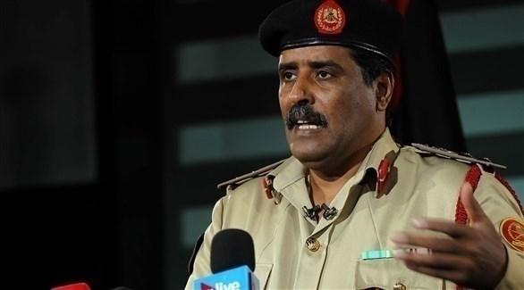 المتحدث باسم الجيش الليبي أحمد المسمار (أرشيف)