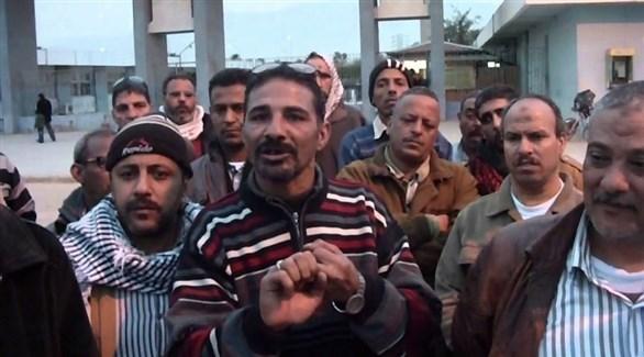 عمال مصريون (أرشيف)