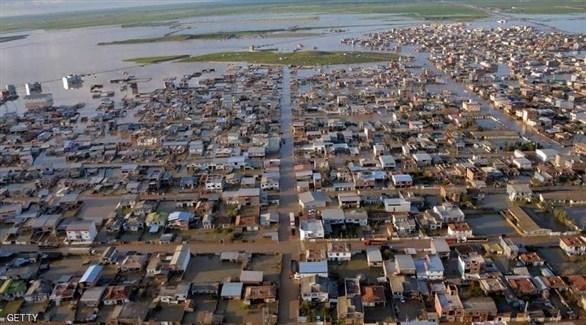 الفيضانات في إيران (أرشيف)