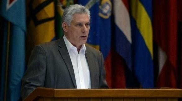 الرئيس الكوبي ميغيل دياز كانيل (أرشيف)