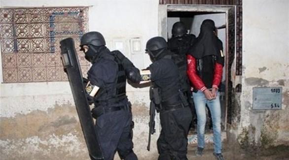 عناصر من قوات الأمن المغربي تضبط خلية إرهابية (أرشيف)