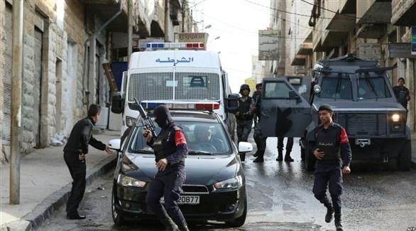 عناصر من الشرطة الأردنية (أرشيف)