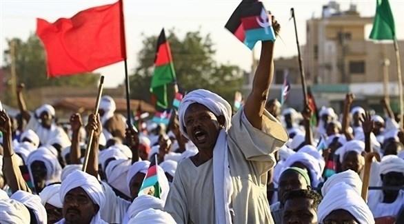 جانب من مظاهرات الحراك السوداني ضد حكومة البشير (أرشيف)