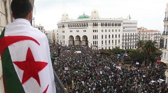 مظاهرات في الجوائر ضد الحكومة (أرشيف)