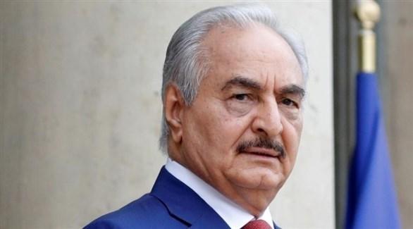 قائد الجيش الليبي خليفة حفتر (رويترز)