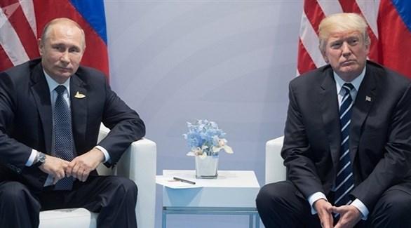 الرئيسان الأمريكي دونالد ترامب والروسي فلاديمير بوتين (أرشيف)