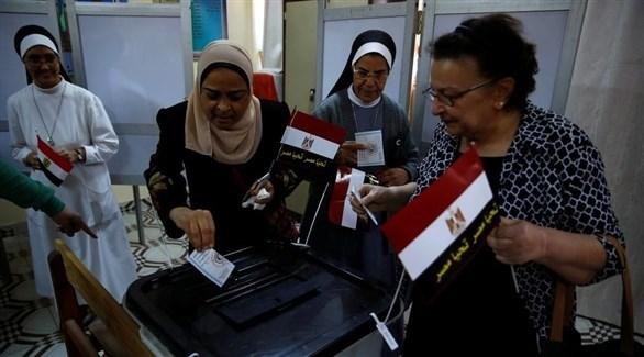 سيدات مصريات يدلين بأصواتهن في انتخابات سابقة (أرشيف)