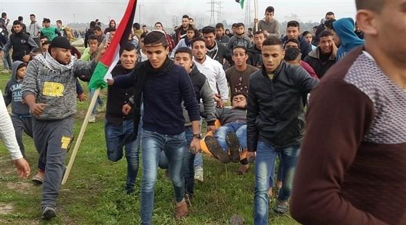 إصابات خلال قمع الاحتلال لمسيرات العودة في غزة (أرشيف)