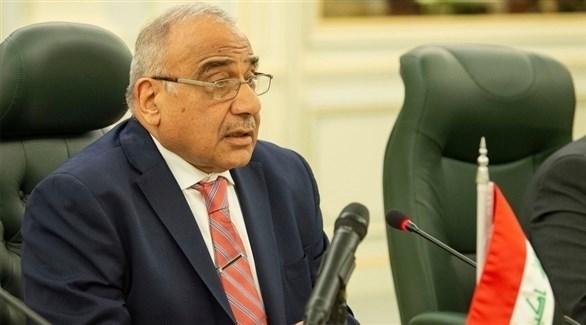 رئيس الوزراء العراقي عادل عبدالمهدي (أرشيف)