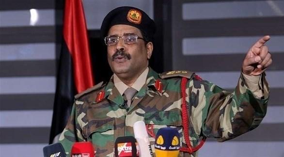 المتحدث باسم قوات الجيش الوطني الليبي اللواء أحمد المسماري (أرشيف)