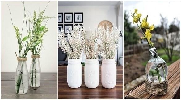 أفكار رومانسية لعرض الأزهار في المنزل (اميزنغ إنتيرير ديزاين)