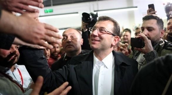 مرشح المعارضة أكرم إمام أوغلو في إسطنبول (إ ب ا)