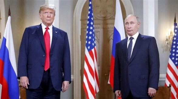 الرئيسان الأمريكي دونالد ترامب والروسي فلاديمير بوتين (إ ب أ)