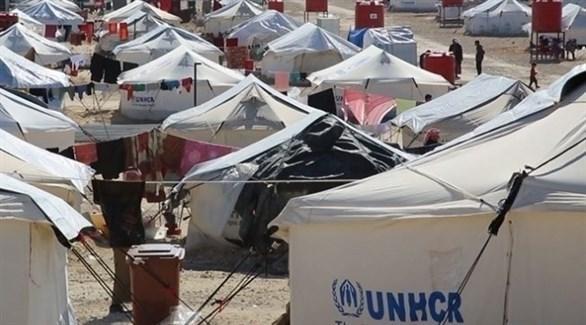 مخيم الهول للنازحين في سوريا (أرشيف)