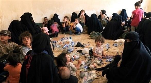 عائلات مقاتلين في داعش بسوريا (أرشيف)