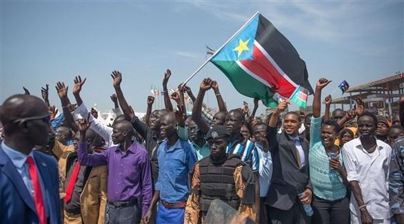 جانب من التظاهرات في جنوب السودان (أرشيف)