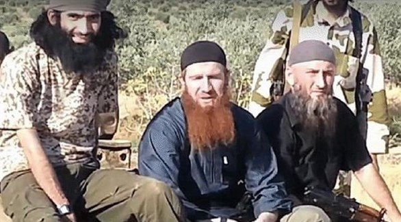 شيشانيون في صفوف تنظيم داعش الإرهابي (أرشيف)