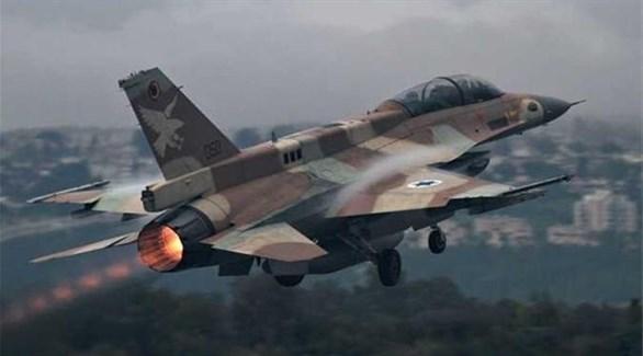 طائرة حربية تابعة لجيش الاحتلال الإسرائيلي (أرشيف)