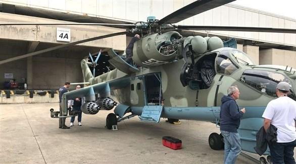 طائرة هليكوبتر روسية (أرشيف)