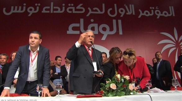 جانب من أحد مؤتمرات حزب نداء تونس (أرشيف)